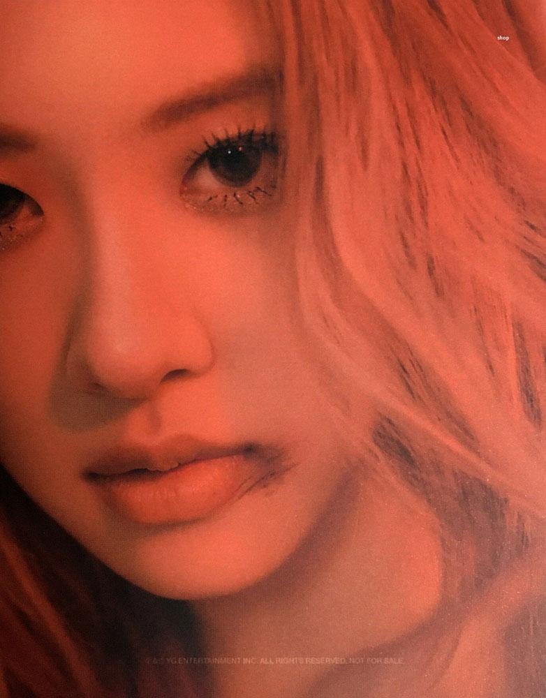 2 Scan Rose BLACKPINK Kill This Love Album Photobook