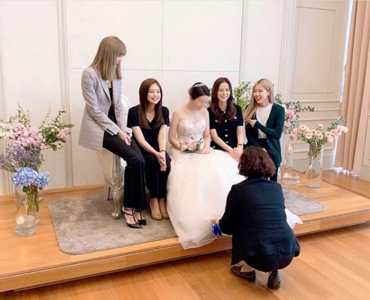 BLACKPINK Members Spotted At Jisoo's Brother Wedding Party