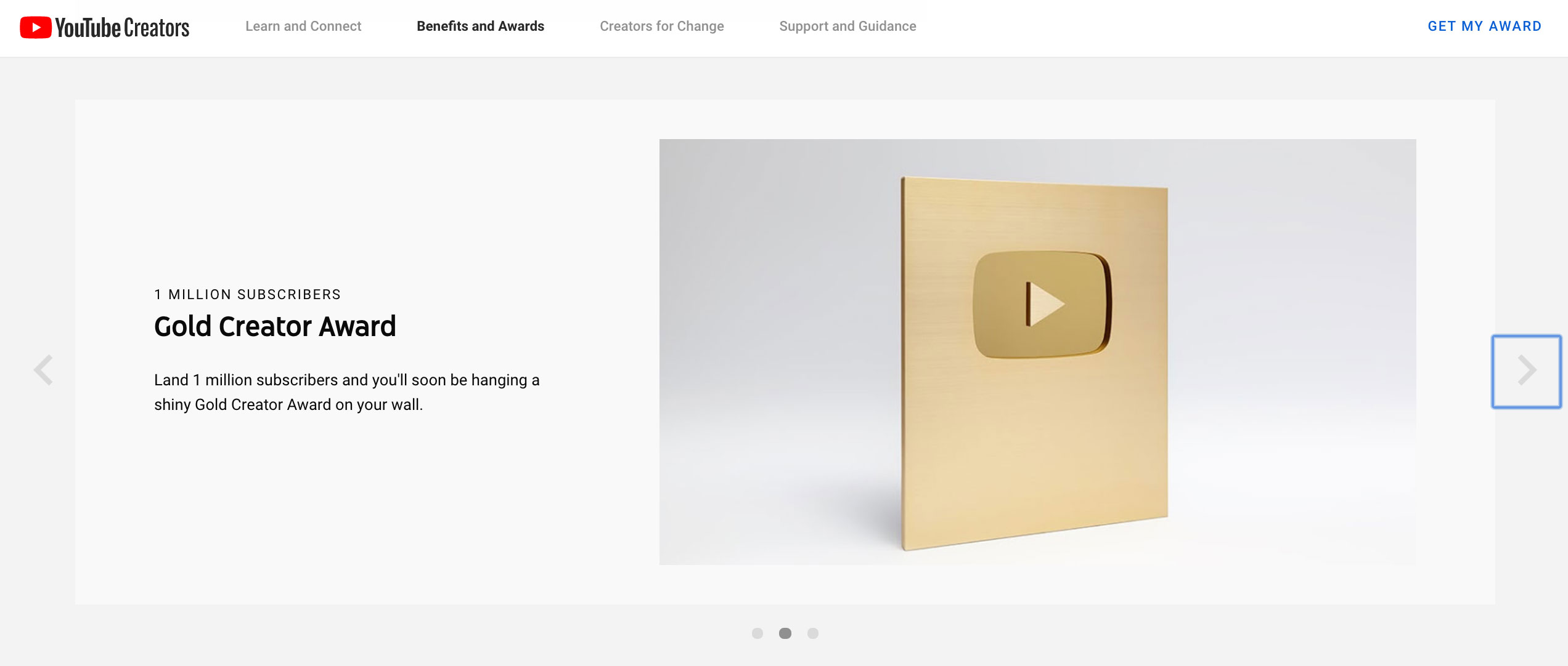 Congratulations Lisa for Receiving YouTube Gold Play Button