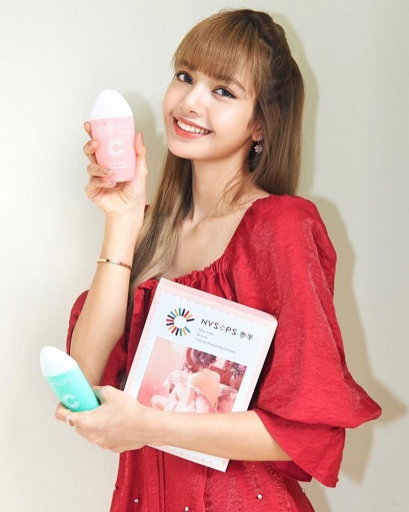 Blackpink Lisa For Nyscps China Toothpaste And Toothbrush Brand