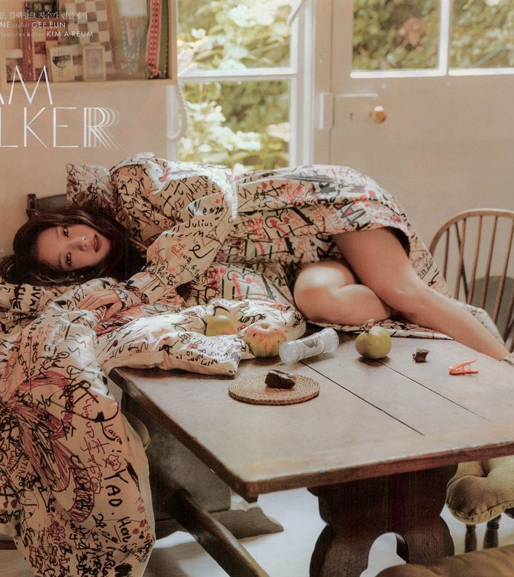 HQ SCAN BLACKPINK Jisoo ELLE KOREA Magazine Burberry 2019