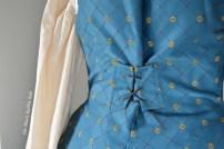 blue skirt waistcoat back particular