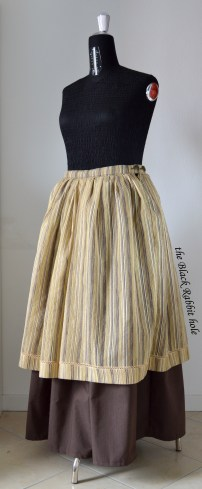 pirate brown skirt