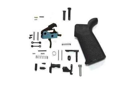 Black Rain Ordnance AR15 Lower Parts Kit With BRO Drop In Trigger