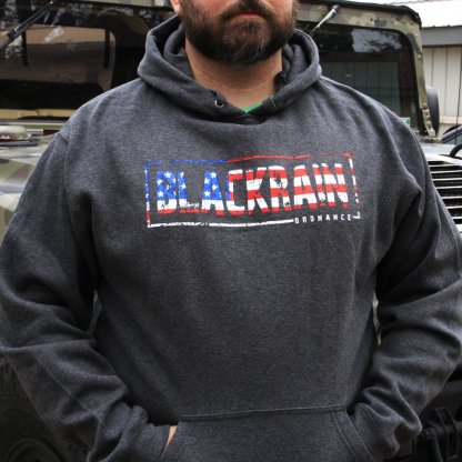 Black Rain Ordnance Etched Flag Hoodie
