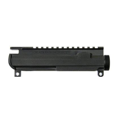 Left Handed Black Rain Ordnance Billet AR15 Upper Receiver - Black