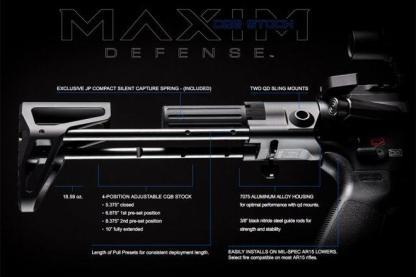 Maxim CQB Pistol PDW Brace