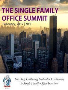 Single Family Office Summit February 2017 NYC