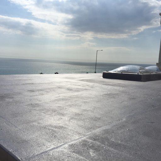 Mastic Asphalt Roof Including Roof Lights