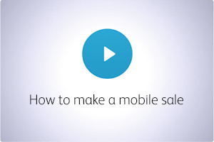 QuickBooks POS Video How to Make Mobile Sale