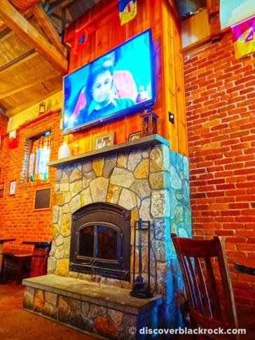 Brennan's Shebeen Fireplace Black Rock CT