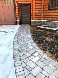 Custom paver walkway Gull Lake MN