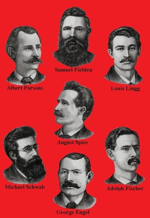 portraits of haymarket martyrs