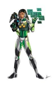 T.A.S.K team member Glitch
