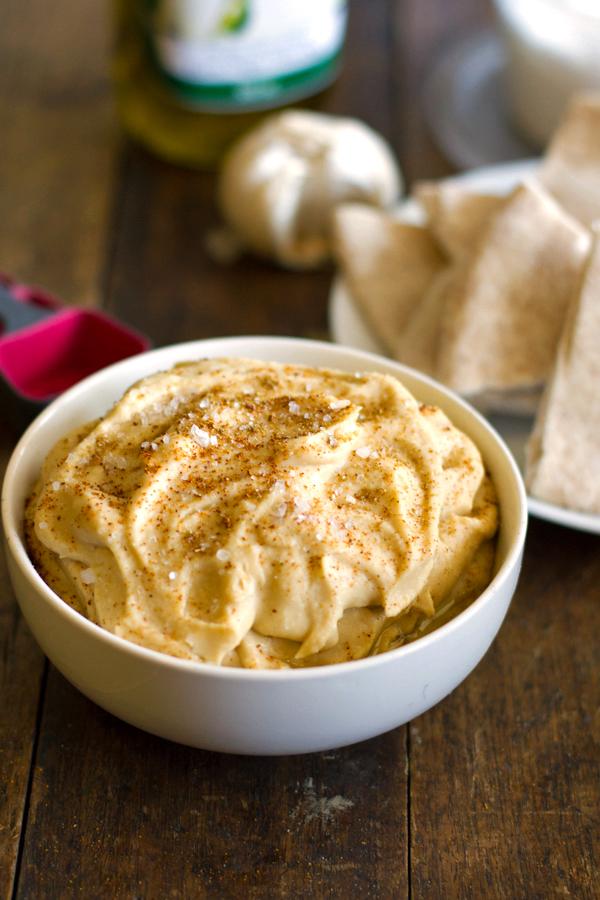 Homemade Hummus Withou...