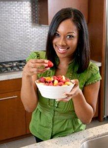 eating fruit for breakfast vegan diet