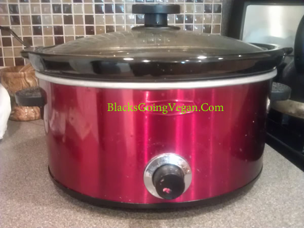 black beans in crock pot