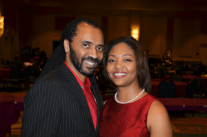 Me with my beautiful life partner and wife, Jackie Butler