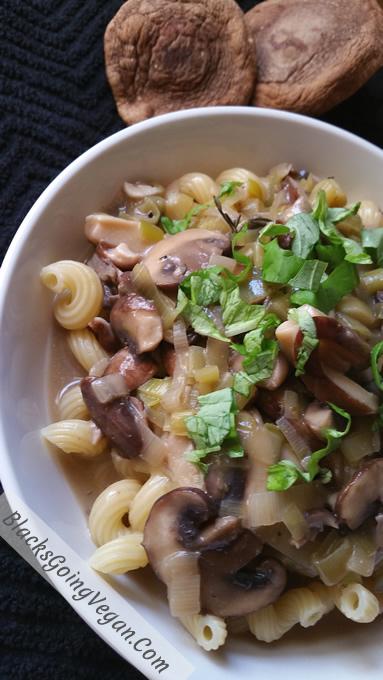 leek mushroom pasta 9