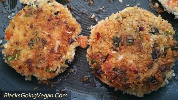 vegan crab cakes 4