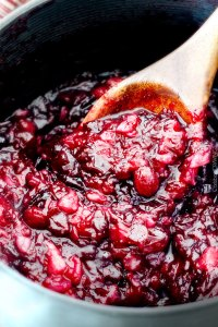 pineapple cranberry relish - click for recipe
