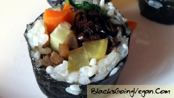 Vegan Kimbap BlacksGoingVegan13