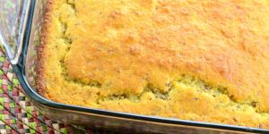 vegan cornbread recipe - click for recipe