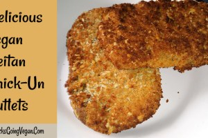 Vegan Seitan Cutlets Recipe