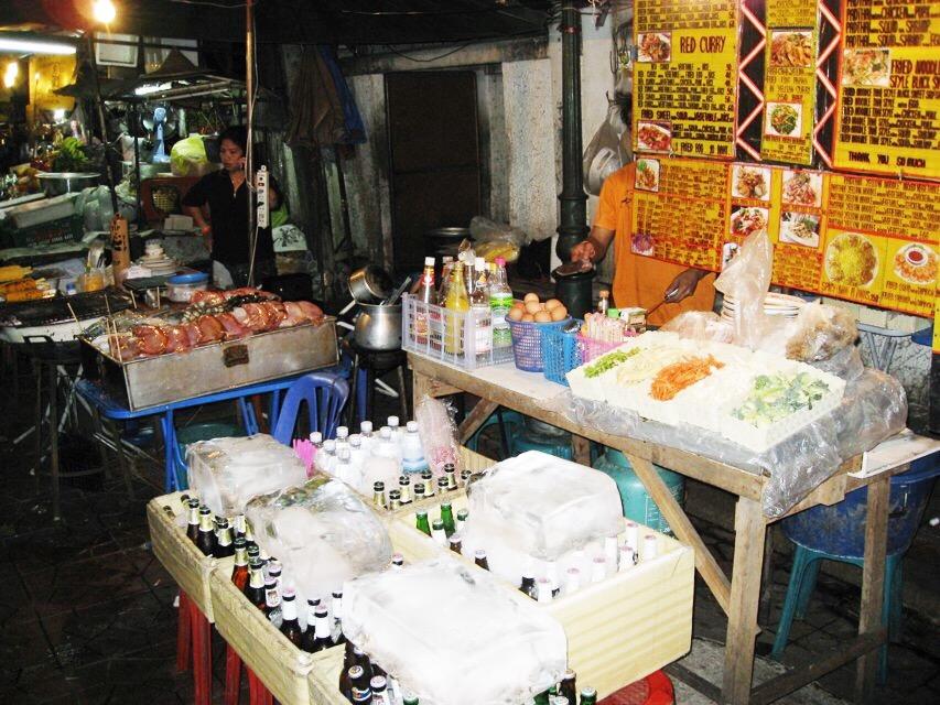 Bangkok, Khao Son Road, street food
