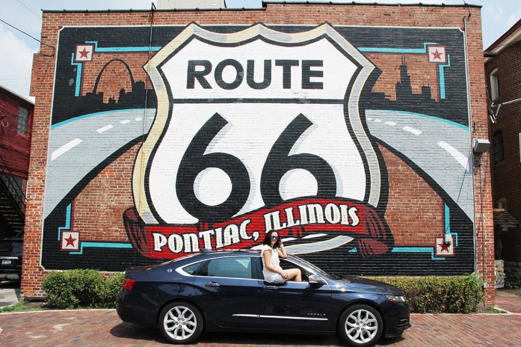 Murales di Pontiac sulla Route 66, Illinois