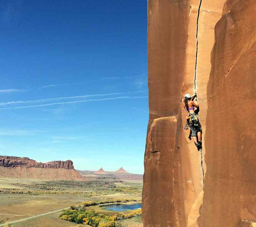 Crack climbing Glove