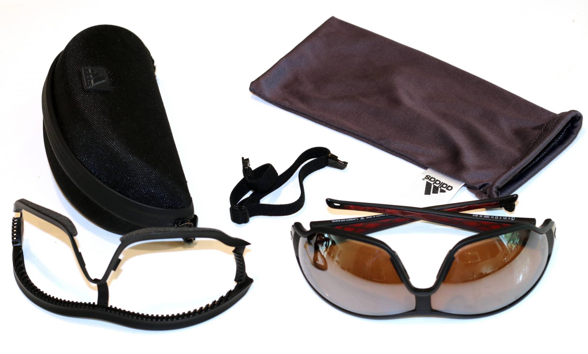 Pila de Antagonismo profundo  Review: Adidas Tycane Pro Outdoor Sunglasses - Black Sheep Adventure Sports