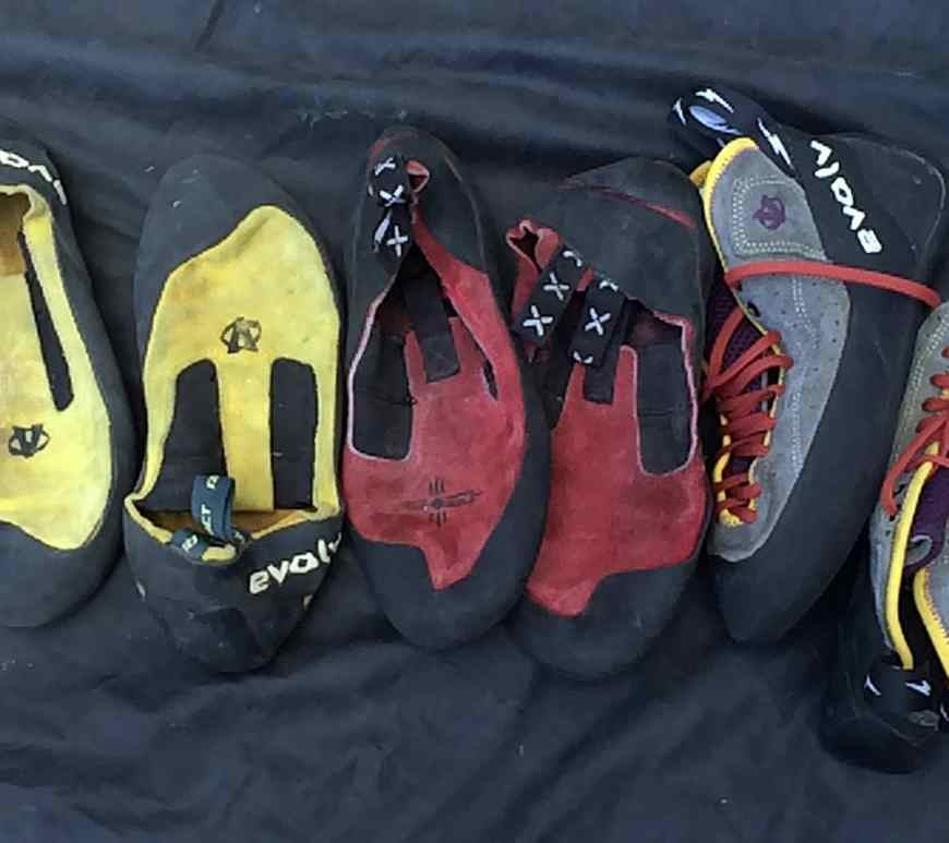 Crack Climbing Shoes