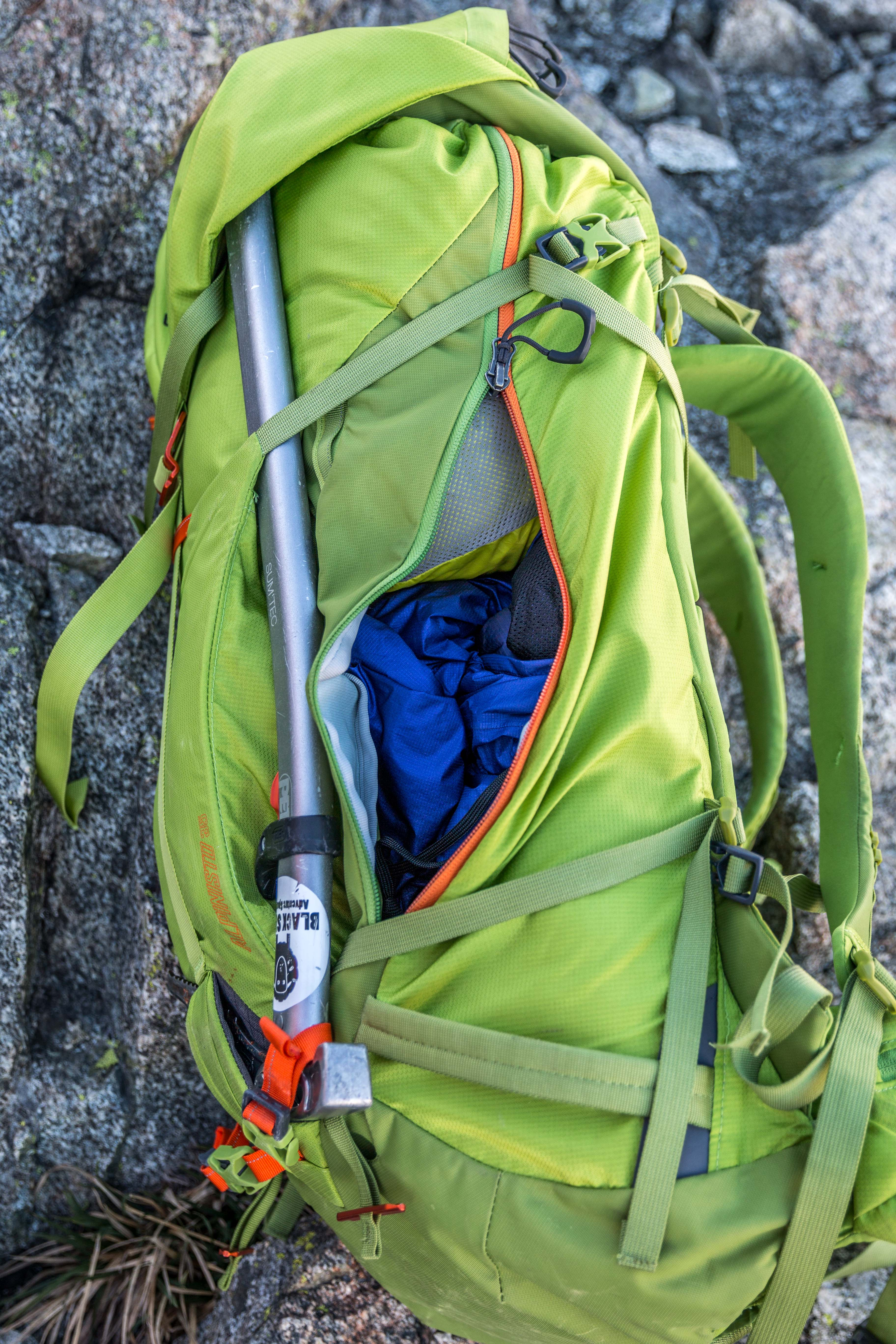 Review Gregory Alpinisto 35 Pack Black Sheep Adventure Sports