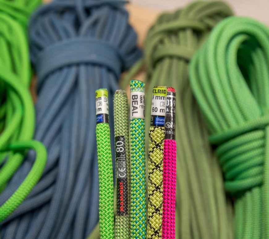 Sub 9mm Climbing ropes
