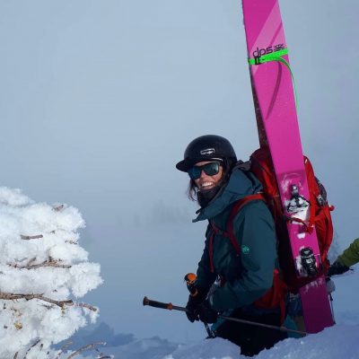 Holly Walker, ACMG Apprentice Ski Guide