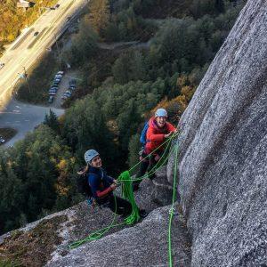 Squamish Apron Climbing