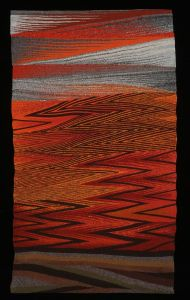 Deborah Corsini Fire Season Wedge Weave Tapestry