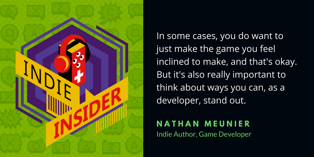 Indie Insider Podcast #6 – Nathan Meunier and an Exclusive Announcement