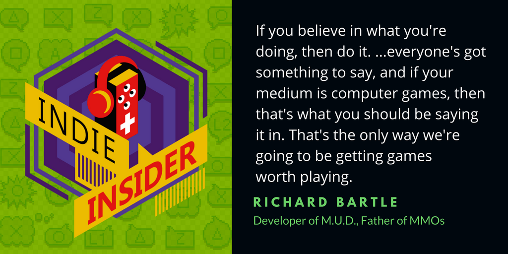 Indie Insider Podcast #15 – Richard Bartle, Father of MMOs