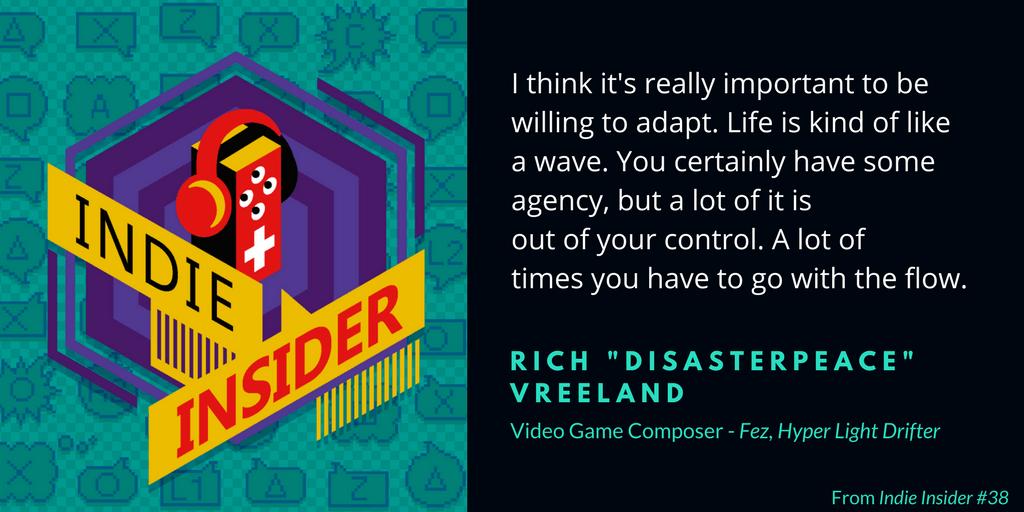 Indie Insider #38 – Rich Vreeland, Disasterpeace