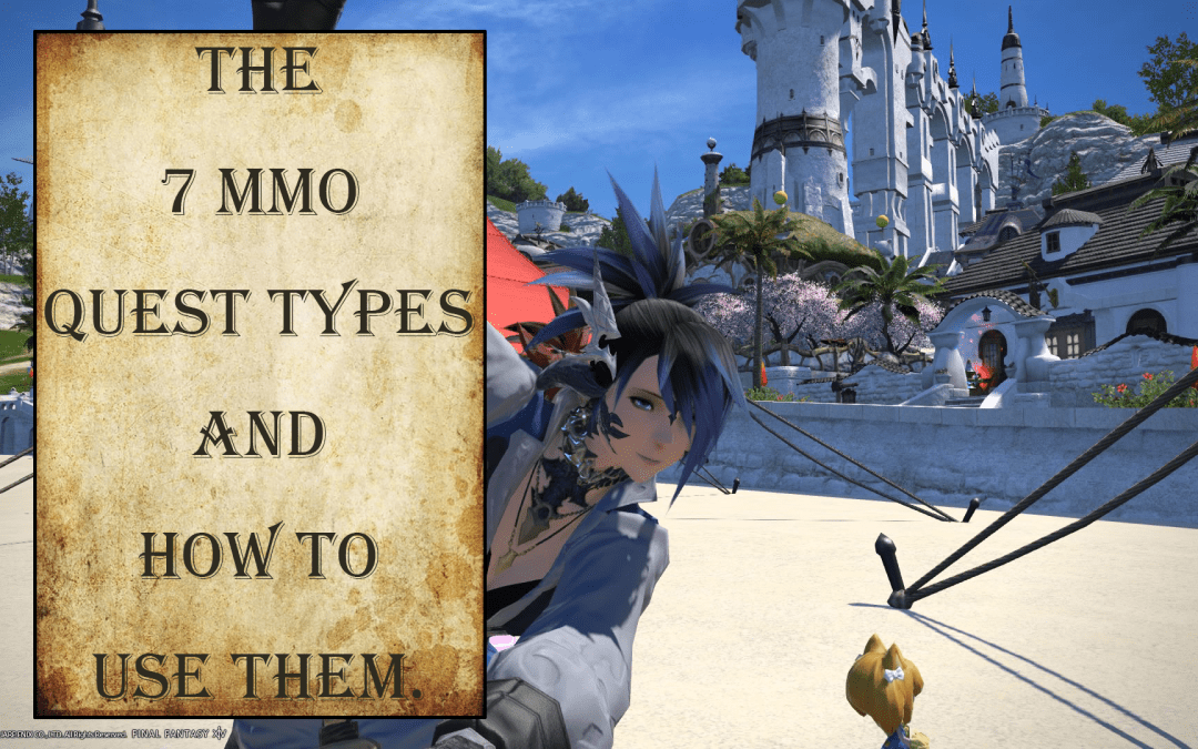 The 6 MMO Quest Types and How they Work