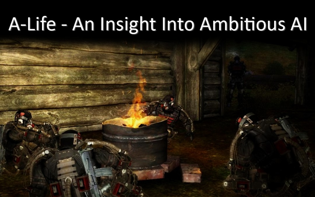 A-Life: An Insight into Ambitious AI