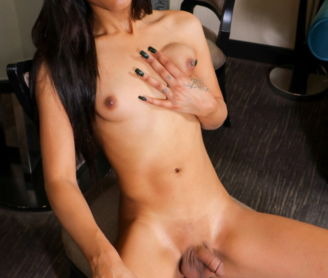 Shemale Starlet From Chicago Has It All An Amazing Body Stunning Long Legs And A Booty To Die For Watch Her Posing And Stroking Her Cock Until She