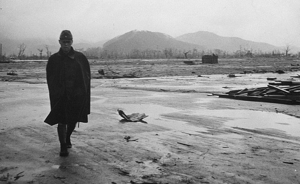 A real post-apocalyptic scene: Hiroshima, Japan, after its destruction by an American atomic bomb in 1945.