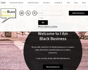 I AM Black Business app