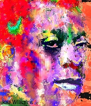 James Baldwin digital color art