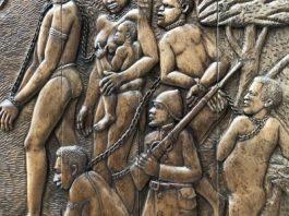 Liberian support art at Harlem Hospital