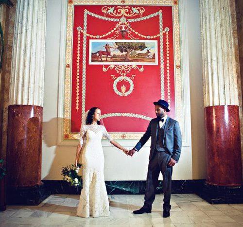 Wedding Feature: An HU Romance 18