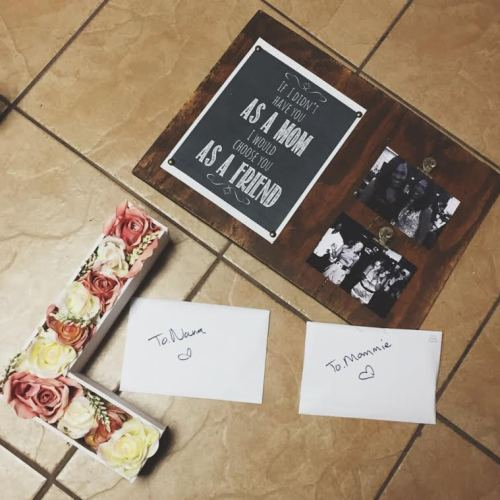 Monogram Bloom - Mother's Day DIY Part 2 5